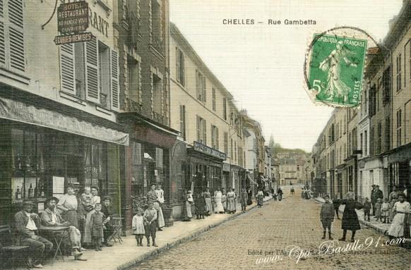 Chelles - rue Gambetta - Cliquez sur la carte pour l'agrandir et en voir tous les détails