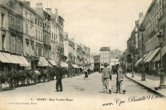 Niort-rue-victor-Hugo - Cliquez sur la carte pour l'agrandir et en voir tous les détails