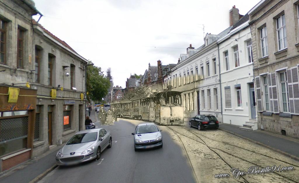 Valenciennes arriv e du tramway de la route de qui vrain - L adresse valenciennes ...