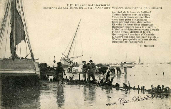 17-Marennes-La pêche aux Viviers des bancs de Juillard