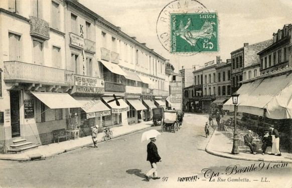 17-Royan-La rue Gambetta - Cliquez sur la carte pour l'agrandir et en voir tous les détails