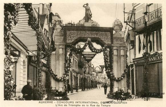 89-Auxerre-Concours international de musique en 1934