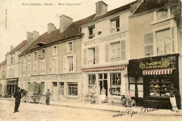 89-Ravieres- rue Gaumart