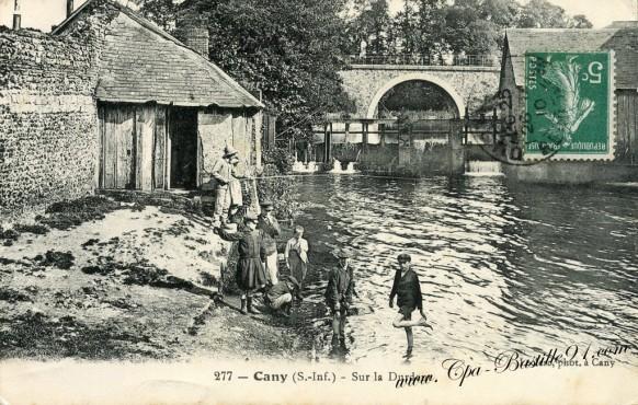 76 - Seine-Maritime - Cany-Sur la Durdent - Cliquez sur la carte pour l'agrandir et en voir tous les détails