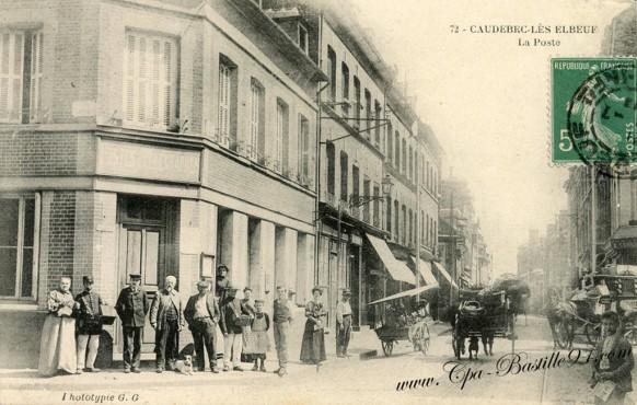 76-Seine-Maritime-Caudebec-les-elbeuf-La poste