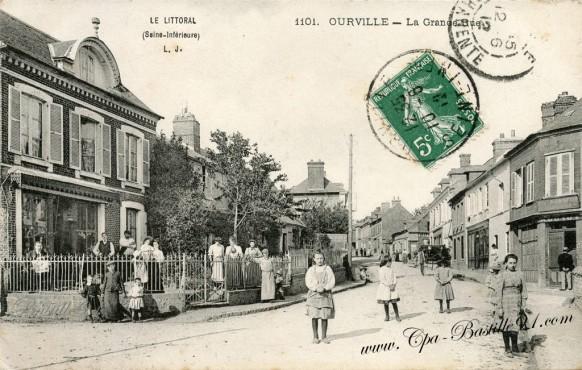 76-Seine-Maritime-la grande rue-jeunes filles