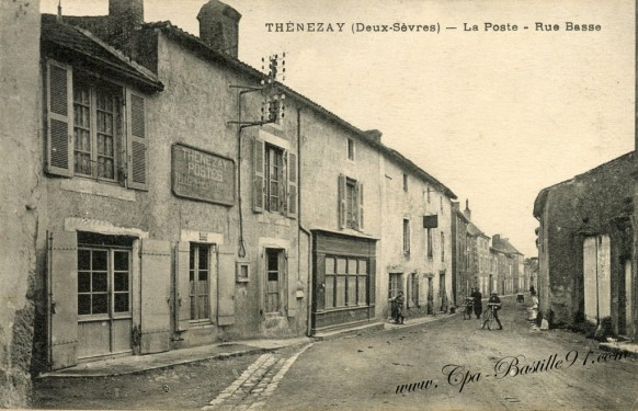 Poste cartes postales anciennes - Bureau de poste gennevilliers ...