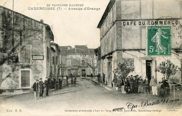 84-Caderousse-avenue dOrange-Le Vaucluse illustré