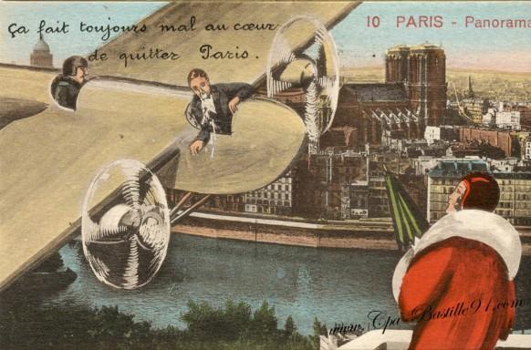 Ça fait toujours mal au cœur de quitter Paris   !