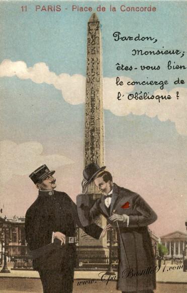 Paris-Place de la concorde-Pardon Monsieur