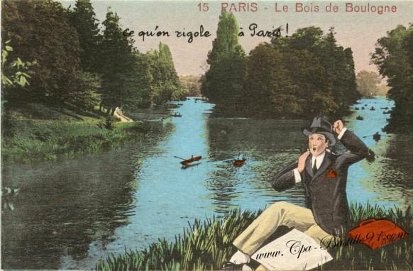 Paris- le bois de boulogne - Ce qu'on rigole à Paris