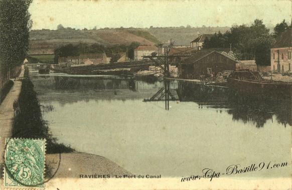 Ravieres-le port du canal