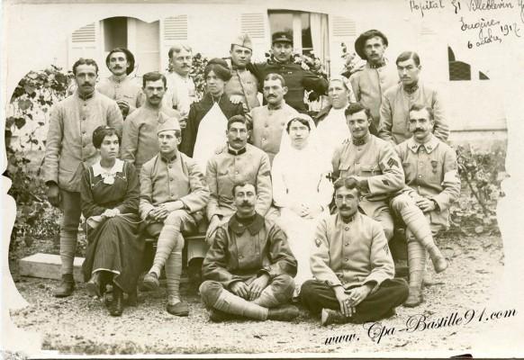 89-hopital de Villeblevin en 1917