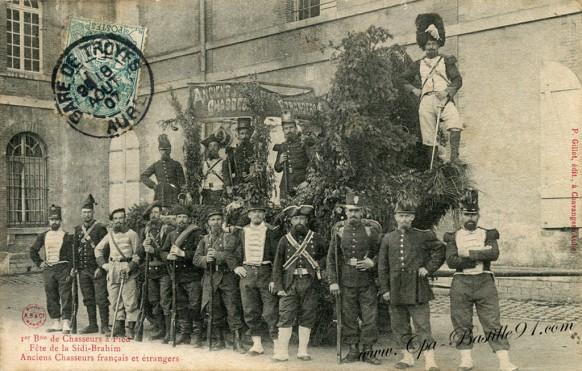 Chasseurs à pied - fête de la Sidi-Brahim - Cliquez sur la carte pour l'agrandir et en voir tous les détails