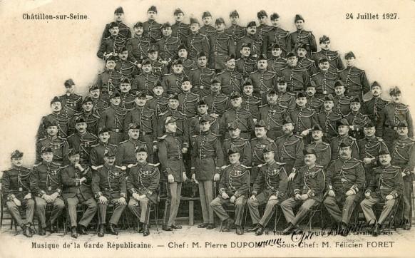 Chatillon-sur-Seine Musique de la garde republicaine