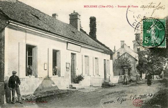 21-Molesme-Bureau de poste