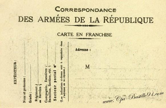 les premières troupe américaine débarques en France juin 1917-verso