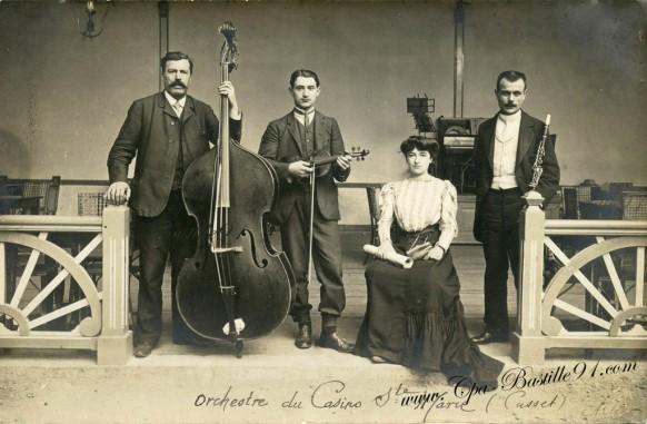 Orchestre du casino sainte Marie à Cusset