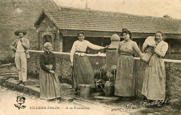 Villier-Louis -  A la Fontaine