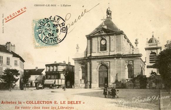 94-carte postale ancienne-Choisy le roy-specimen-Le-deley - Cliquez sur la carte pour l'agrandir et en voir tous les détails