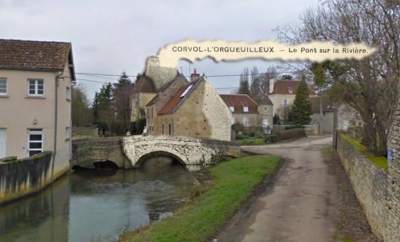 Corvol-l'orgueuilleux-le-pont-sur-la-riviere-100-ans-apres