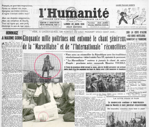 Journal-de-L'humanite-du-29-juin-1936