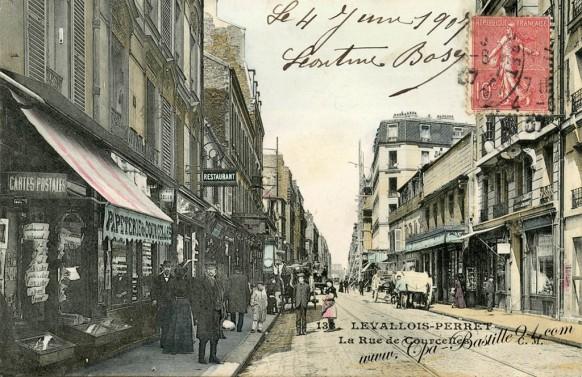 Levallois-Perret-la Rue de Courcelles