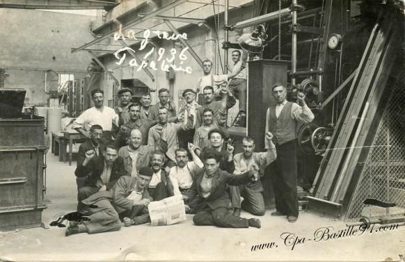 les grèves de 1936