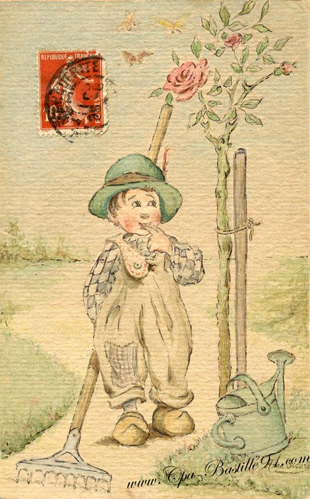 jardinier | Cartes Postales Anciennes