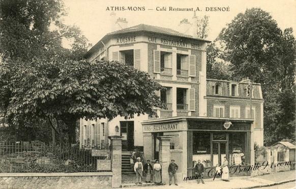 Athis-Mons-Café restaurant A-Desnoé