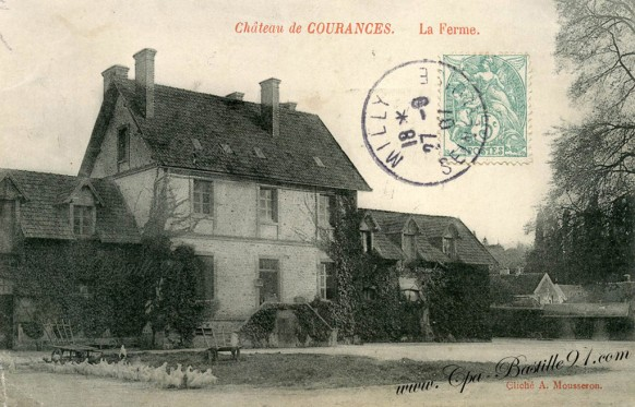 Milly -Chateau de Courances-La Ferme