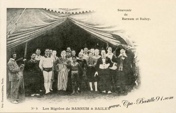 Cirque-Souvenir de Barnum et Bailey