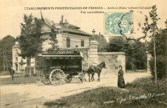 carte-postale-ancienne-Etablissement-Penitentiaires-de-Fresnes