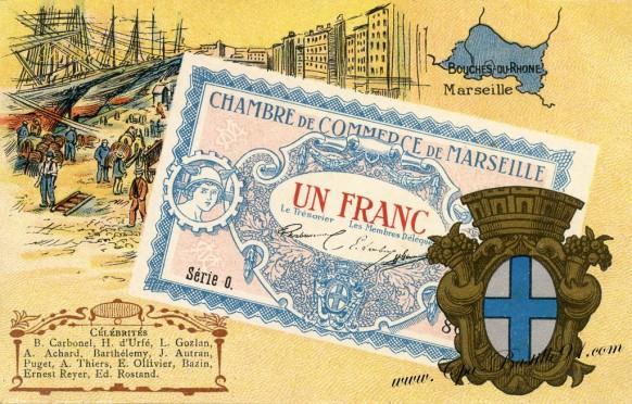 Un francs-Chambre du commerce de Marseille