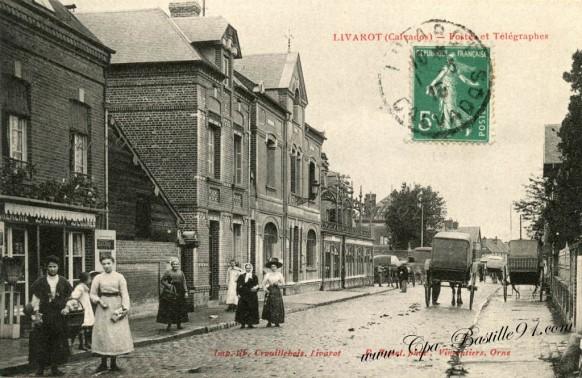 Livarot-Postes et Telegraphes