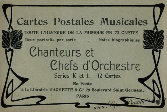 Pochette - Toute l'histoire de la musique en 72 cartes