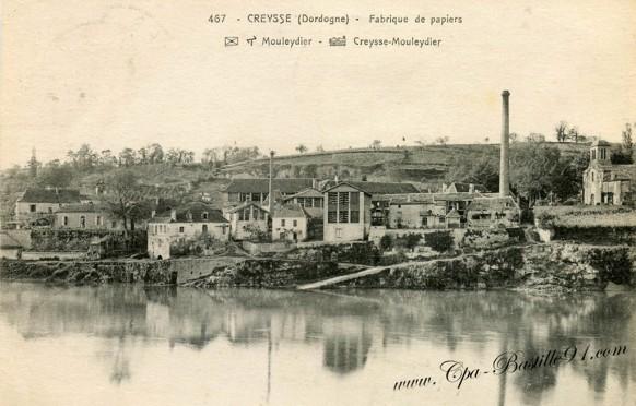 Creysse-Fabrique de papiers