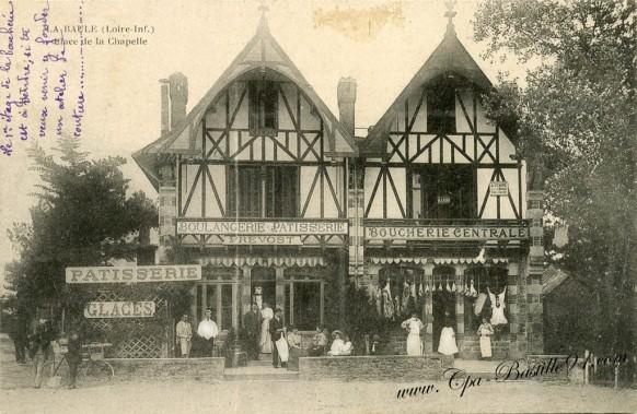 La Baule-Place de la Chapelle -Boulangerie-Bougerie-Prevost - Cliquez sur la carte pour l'agrandir et en voir tous les détails