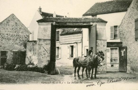 Verneuil la ferme du Chateau