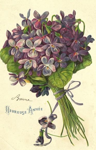 Carte-Postale-Ancienne-Bonne annee 2014
