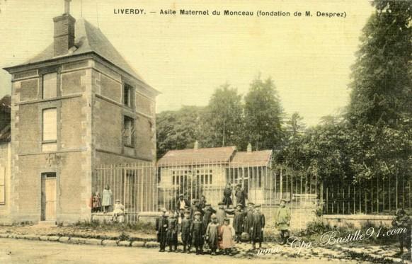 Liverdy-Asile Maternel du Monceau-Fondation de M- Desprez