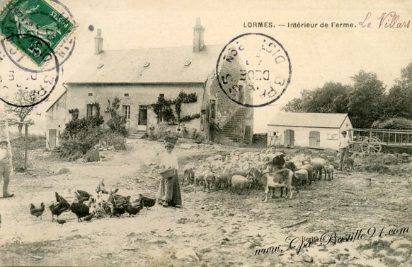 Lormes interieur de Ferme-Le Villars