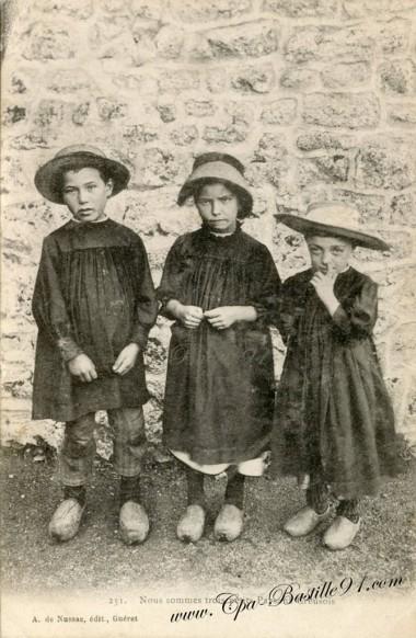 Nous sommes trois petits paysans Creusois