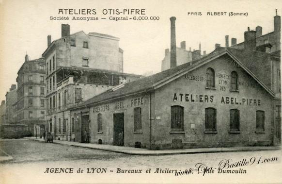 Lyon-Ateliers Otis-Pifre-Ascenseurs
