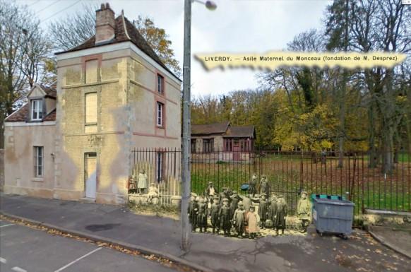 Liverdy l'asile Maternel du Monceau 100 ans apres