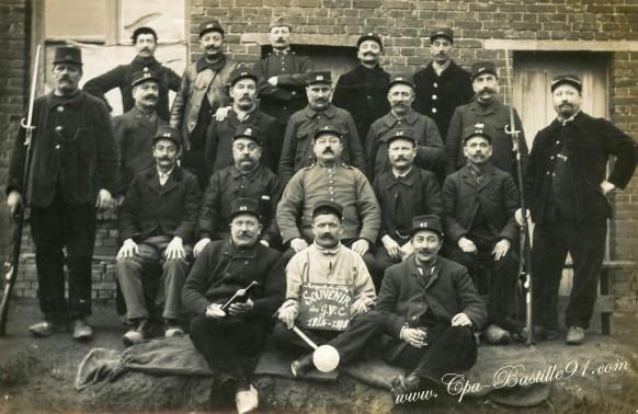 Nogent sur Oise - Souvenir des soldats du GVC de 1914-1915