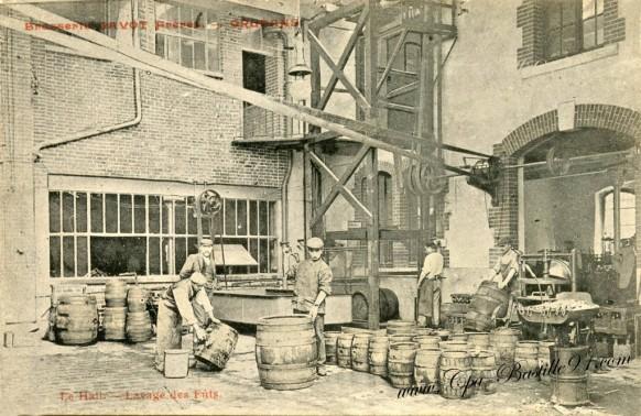Orleans - Brasserie Gavot freres - Lavage des Fûts