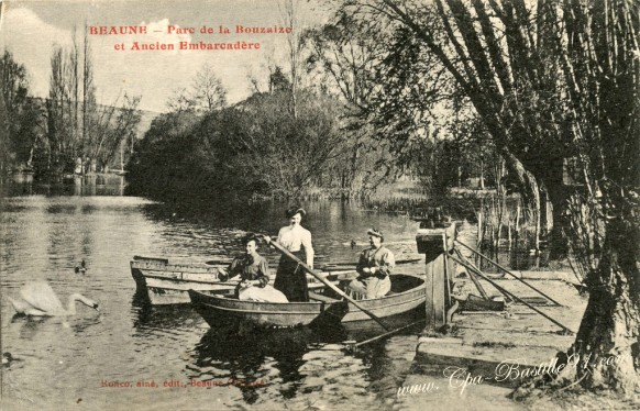 Beaune-Parc de la Bouzaize et ancien Embarcadère