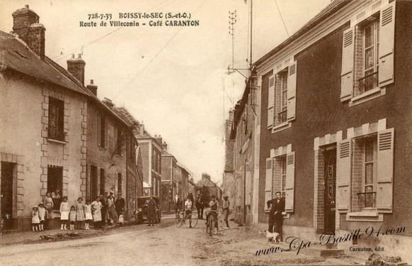 Boissy-le-Sec-Route de Villeconin-Cafe Caranton
