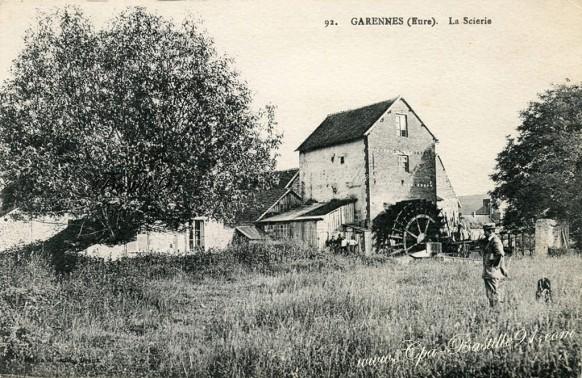 Garennes-la scierie